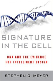 Cover of: Signature in the cell | Stephen C. Meyer
