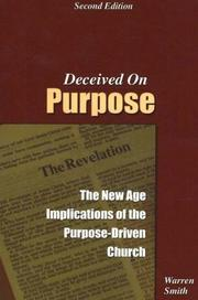 Cover of: Deceived on Purpose | Warren Smith