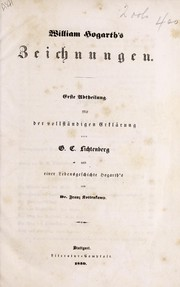 Cover of: W. Hogarth's zeichnungen