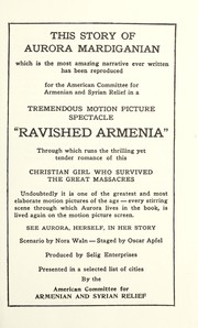 Cover of: Ravished Armenia