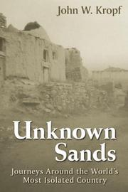 Cover of: Unknown Sands | John W. Kropf