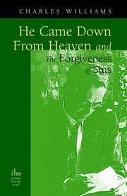 Cover of: He Came Down from Heaven And the Forgiveness of Sins