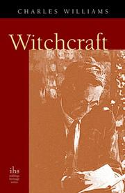 Cover of: Witchcraft