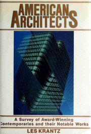 Cover of: American architects
