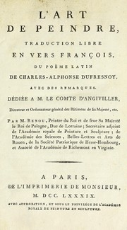 Cover of: L'art de peindre