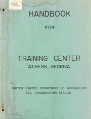 Cover of: Handbook for professional employees | United States. Soil Conservation Service.