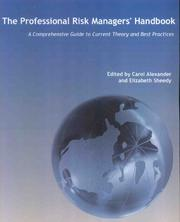The Professional risk Managers' Handbook:A Comprehensive Guide to Current Theory and Best Practices (3 Volume Set)