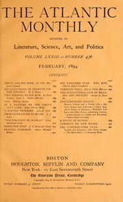 Cover of: Recollections of Stanton under Lincoln