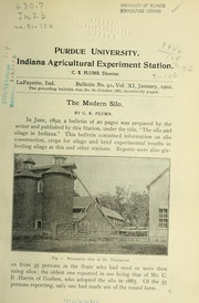 Cover of: The modern silo