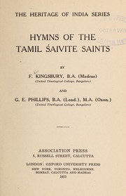 Cover of: Hymms of the Tamil Śaivite saints