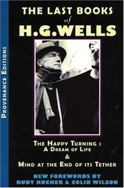 Cover of: The last books of H. G. Wells