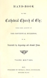 Cover of: Hand-book to the cathedral church of Ely |