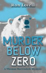 Cover of: Murder Below Zero (A Thomas Martindale Mystery)