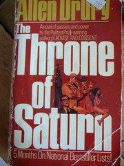 Cover of: The throne of Saturn | Allen Drury