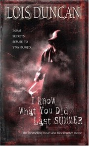 Cover of: I Know What You Did Last Summer | Lois Duncan