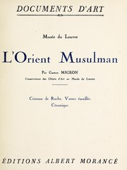 Cover of: L' Orient musulman