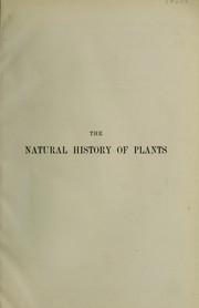 Cover of: The natural history of plants