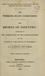 Cover of: The working man's companion