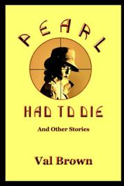 Cover of: Pearl Had To Die