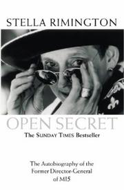 Cover of: Open Secret | Stella Rimington