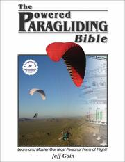 Cover of: Powered Paragliding Bible | Jeff Goin