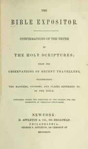 The Bible expositor