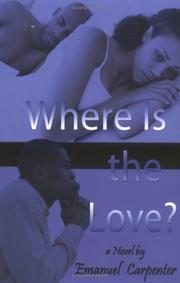 Cover of: Where Is the Love?