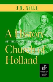 Cover of: A History of the So-called Jansenist Church of Holland