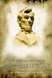 Cover of: Rare Personal Accounts of Abraham Lincoln |