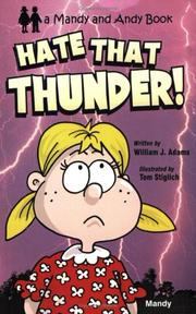 Cover of: Hate That Thunder