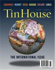 Cover of: Tin House |