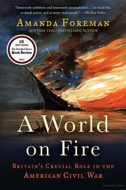 Cover of: A world on fire