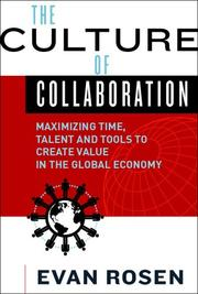 Cover of: The culture of collaboration