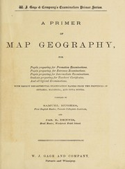 Cover of: A Primer of map geography | Samuel Hughes