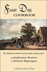 Cover of: Feast Day Cookbook | Katherine Burton