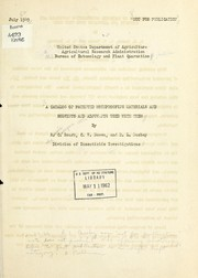 Cover of: A catalog of patented mothproofing materials and solvents and adjuvants used with them | United States. Bureau of Entomology and Plant Quarantine. Division of Insecticide Investigations