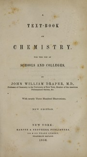 Cover of: A text-book on chemistry