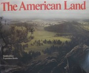 Cover of: The American land. |