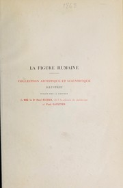 Cover of: Introduction à l'étude de la figure humaine