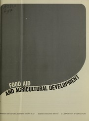 Cover of: Food aid and agricultural development
