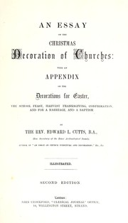 Cover of: An essay on the Christmas decoration of churches