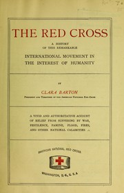 Cover of: The Red Cross