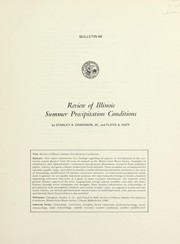 Cover of: Review of Illinois summer precipitation conditions
