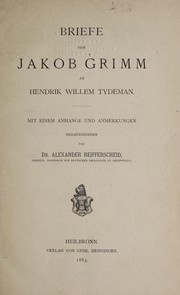 Cover of: Briefe an Hendrik Willem Tydeman