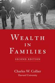 Cover of: Wealth in Families