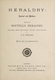 Cover of: Heraldry, ancient and modern