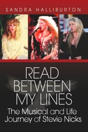 Cover of: Read Between My Lines | Sandra Halliburton