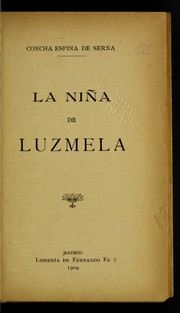 Cover of: La nin a de Luzmela