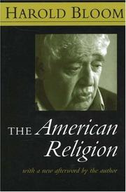 Cover of: The American religion