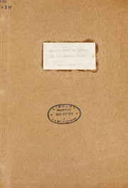 Cover of: Mosquito survey and control, Government Camp, Oregon. Mt. Hood National Forest | United States. Bureau of Entomology